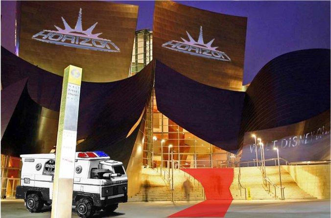Disney Concert Hall Horizon 2070