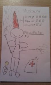 Fiche de Personnage : Nathan Le Gnome