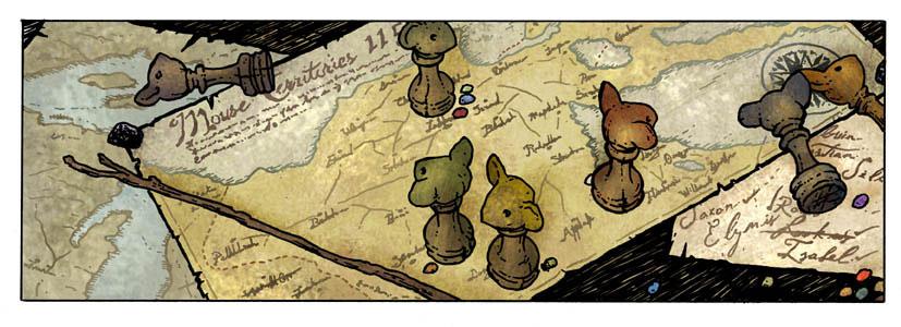 La Carte des Territoires de Gwendolyne